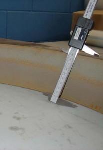 corte por agua acero 100mm