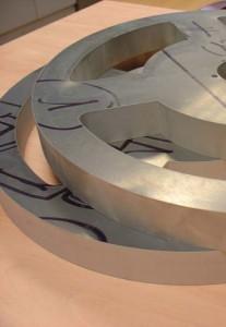 corte por agua aluminio 35 mm