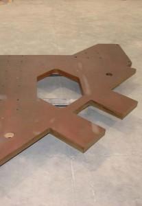 corte por agua hierro 50 mm